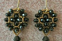 Beading - Earrings / by Patricia Cass