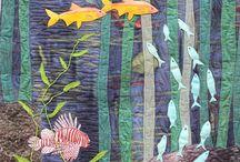 Fisk quilt