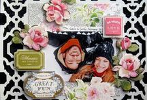 Anna Griffin scrap booking pages / by Diane McLean