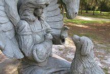 Angels/Gravestones/Monuments / I love gravestone monuments.