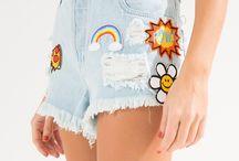jeans com patches