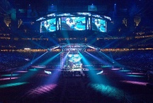 Event Design: Stages, General Session / Event design of staging, general sessions, theatrical sets / by James Christian