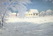 Winter Landscapes Fine Art