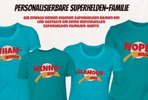Superhelden & Comic Shirts / Alles was mir zu dem Thema so einfällt :D
