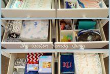 baby organizing