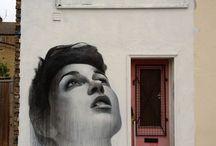 Street Art / Rue / graffiti / peintures aérosols / affichages / Illégal
