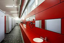 Vanity Units / #Vanity unita complement toilet cubicle as well as #locker installations with a number of options available in both style and finish.