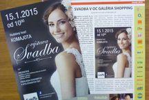 Svadobná výstava 15.1.2015 / Svadobná výstava v OC Galéria Shopping