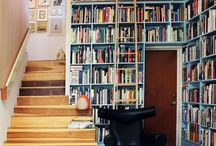 I LOVE BOOKCASES & LIBRARIES & BOOK STORES!