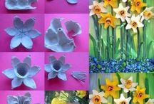 Easter - velikonoce / velikonoční dekorace a nápady