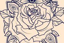 mandala hand tattoos