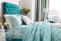 Turqoise bedroom