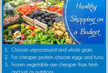DIY: Healthy Living on a Budget / How to get healthy, workout, and eat right in the most cost effective way.