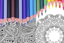 coloriage et dessin / by Vanessa Flament Gorse