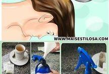Chá Para parar a Queda de cabelo