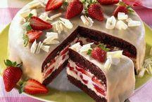 bolos e sobremesas