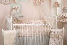 Tea Party / Tea Party is beautiful combination of soft vintage florals and rose faux fur. A perfect baby bedding set for your little girl's nursery. http://www.cottontaledesigns.com/collections/tea-party.html