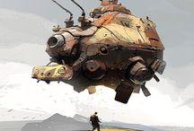 Sci-Fi Vehicles air