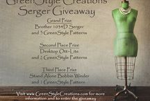 GreenStyle Giveaway - Brother 1034D Serger / GreenStyle Giveaway