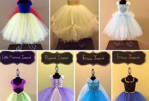 princesas ☆ vestidos