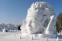 Snow sculptures / by Karin Sebelin