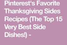 Thanksgiving sides dishes