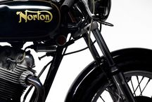 Classic english bikes