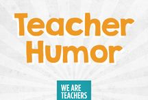 Teacher humour