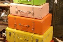 Suitcase for interior