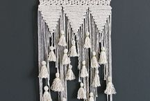 macrame and wall hanging