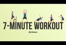 Workout / Gezondheid en bewegen
