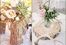 """Natural Wedding / Inspiration rund um die """"natürliche Hochzeit"""" im eigenen Garten"""