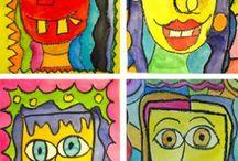 5th Grade Projects / Fifth grade Art lesson ideas.