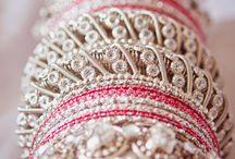 bridal chura and kalira / by Kiran Gill