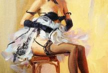 Vintage Pinups / by Crystal Nalley