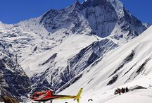 Helicopter Tour / If you have immense interest to fly over and explore the Himalayas by Helicopter from Kathmandu airport, we organize an exciting experience for you to see the aerial view of major mountains including the world's highest Peak Mt. Everest by helicopter. We can organize your helicopter tours of different durations.