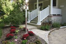Newly Installed Stairs   Chicago, IL / Woods Home Improvements would like to showcase some of the stair installations we have completed.  Like a red carpet, it points the way to your destination in style.