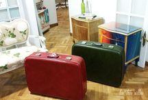 Cómo restaurar una maleta vintage - How to restore a vintage suitcase / Restauramos dos maletas vintage de los años 50  Descubre todos los pasos en nuestro blog: http://lastressillas.com/como-restaurar-una-maleta-vintage-para-bodas-y-eventos/
