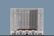Buildings / Buildings in high quality digital print
