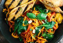 Noodle and Stir-Fry / Noodles and Stir-fry recipe collection. Chicken stirfry prawn stir-fry, Singapore noodles, Rice noodles, stir-fry rice, Chinese noodles