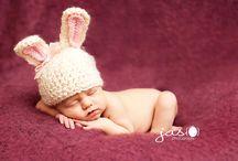 knitted baby hat - horgolt babasapik fotózáshoz