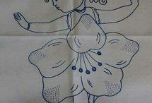 niñas flor