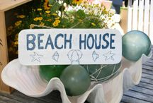 Welcome Signs for the Beach/Tropical House / Welcoming carved signs with a Beach and Tropical feel.