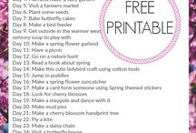 Spring activities, crafts and games