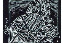 Zentangle (Black tiles)