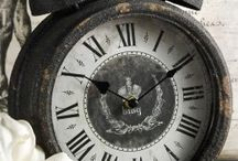 ☆*¨*ღ Time stood still / Old clocks and watches. They tell a story.