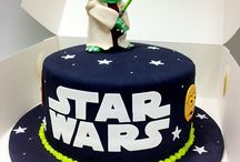 Star wars torta, cupcakes, galletitas