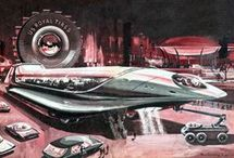 concept the future / conceptual artworks and sci-fi illustrations