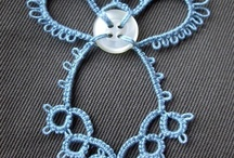 Tatting / Exodus 28:37 - and thou shalt put it on a blue lace, that it may be upon the mitre; upon the forefront of the mitre it shall be.  / by Barbara Birge