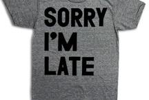 Elämäni t-paitoina